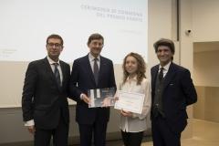 Milano 09/10/2018Cerimonia di consegna del Premio Parete all'Università Bocconi.Foto Paolo Bona