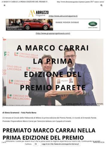 Abruzzo Magazine 27 Aprile 2017