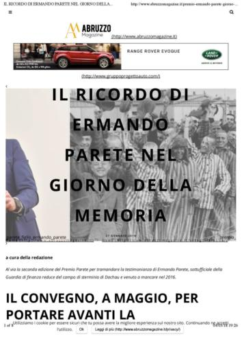 Abruzzo Magazine 27 Gennaio 2018